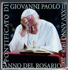 5  € comm. vaticano proof  2003 anno del rosario