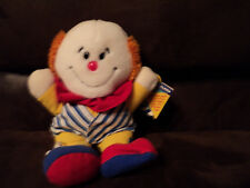 Dakin 1989 clown w tag juggles child learning toy