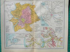 Old map :Rome Italy 1931 / mappa antica Roma Italia / landkaart Rome antique