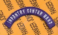Us Army Infantry Center Band Usais tab arc patch