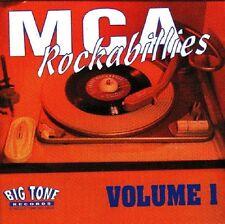 MCA ROCKABILLIES Volume 1 (2-CD) Double CD 60 tracks 1950s Rockabilly