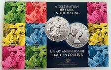 2012 $20 Fine Silver Commemorative Coin - Queen Elizabeth II Canada 1952-2012