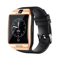 Smartwatch Q18 Bluetooth Telefon SIM Kamera Handyuhr Facebook Android iOS Huawei