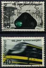 Netherlands 1964 SG#076-7 Railways Used Set #D71590