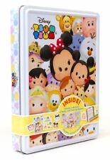 Disney Tsum Tsum Activity Tin 2 Books Over 50 Stickers Poster Birthday Gift Set