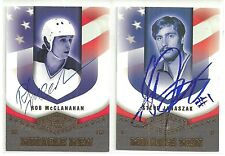 2004/5 UD LEGENDARY SIGNATURES ROB McCLANAHAN MIRACLE MEN AUTO AUTOGRAPH