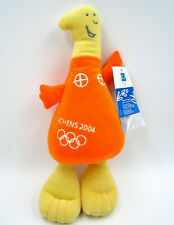 Plush Olympic Games Mascot Athens 2004 w/ Tag by Jumbo Toys ~ Authentic / Rare