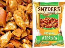 3X Snyder's Pretzel Pieces Spicy Jalapeno LOW SODIUM LOW FAT HEALTHY SNACK