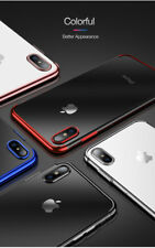 iPone Ultra Slim Shockproof Bumper Case Cover for Apple iPhone XS MAX XR 8 7 6 X