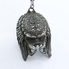 New Alien vs. Predator 3D Mask Silver Metal Keyring