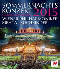 Sommernachtskoncert 2015 Wiener Philharmoniker (mehta) BLURAY DVD