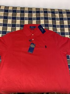 Polo RALPH LAUREN Uomo XL CUSTOM SLIM FIT
