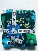 new Joe Boxer BLANKET SLEEPER Baby Toddler Boys 12M Monsters Print Fleece Pajama