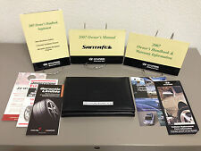 2007 Hyundai Santa Fe OEM Owner's Manual Set w/ Supplements & Case Free Shipping