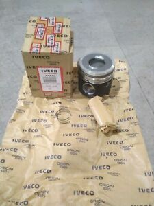 IVECO 2996869 - Piston assembly with rings - std. size (8060.25R/8040.25B)