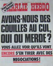 CHARLIE HEBDO No 364 NOVEMBRE 1977 OTAGES FRANCAIS EN MAURITANIE