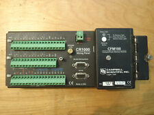 Campbell Scientific Cr1000M 4Mb Datalogger with Cfm100 memory module