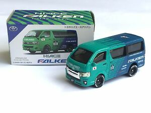1:64 Toyota Hiace Falken diecast same Tomica Hot Wheels size - New in box