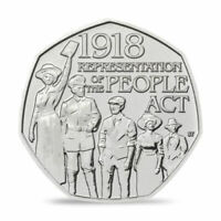 Representation of the People Act 2018 50p Coin Rare Collectable Uncirculated