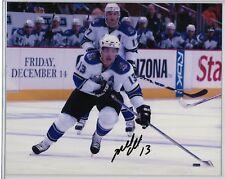 Michael Cammalleri Edmonton Oilers SIGNED 8x10 los angeles kings