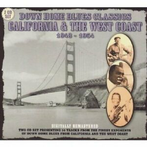 Various Artists-Down Home Blues West Coast California CD NEW