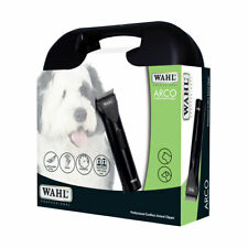 Wahl Arco Clipper Kit For Dogs Adjustable Blade rust resistant 2 Batteries Black