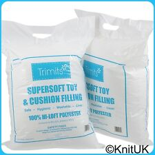 Supersoft Toy Filling. 2 X Bags 250G. (Trimits) Made In UK