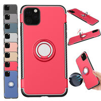 Slim Magnetic Ring Stand Holder Phone Case Cover For Apple iPhone 11 Pro Max