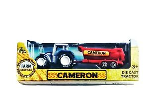 Personalised Tractor & Trailer Toy CAMERON Die Cast 1:64 Scale - Gift Boxed New