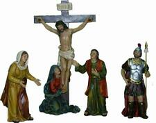 Passion Passionsfiguren die Kreuzigung 4teilig Figuren Größe Ca.9cm