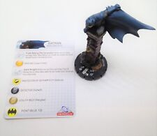 Heroclix Arkham Asylum set Batman #099 Chase figure w/card!