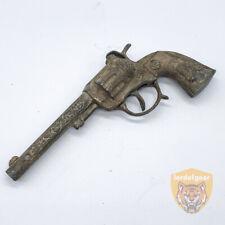 Vintage Hubley Star - Silver Western Style - Toy Cap Pistol Gun - Collectible