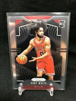 COBY WHITE 2019-20 Panini Prizm Base Rookie Card RC Chicago Bulls #253 J34