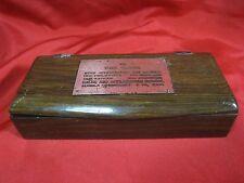 Vtg Rare 1966 IBM Training Appreciation Box Sales & Application School Wood Box