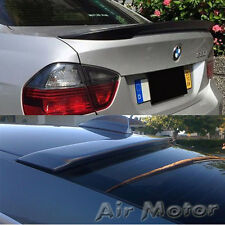 Painted For BMW 3-Series E90 A Roof & High Kick Performance Trunk Wing Spoiler