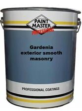 GARDENIA EXTERIOR MASONRY SMOOTH BEST QUALITY 20lts PAINTMASTER PAINT.