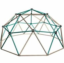 Geometric Dome Climber, 5 Ft. Earth Tone Outdoor Backyard Kids Climbing Play Toy