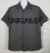 A Bathing Ape Classic Men's Size XL Short Sleeve Button Front Camp Bowling Shirt