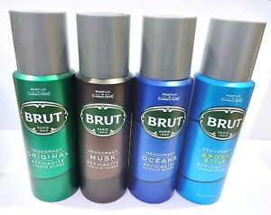 BRUT Deodorant Body Spray 200ml - Different Fragrances