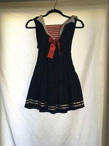 Womens Sailor Costume Size Small/medium