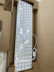 tastiera keyboard apple usb Layout iTa Nuova  MB110T/B