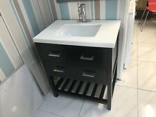 750mm Lydia Vanity Unit Designer Furniture with Quartz Marble Top Sink Basin