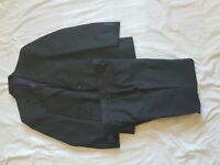 "MENS M&S SARTORIAL CHARCOAL SUIT 40"" CHEST, TROUSERS 34/29"""