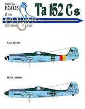 EagleCals Decals 1/48 FOCKE WULF Ta-152C Fighter