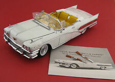 Buick LIMITED Wells Fargo 1958 SUN STAR PLATINUM scala 1:18 OVP NUOVO