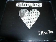 Blink 182 I Miss You Australian 2 Track + Enhanced Video CD Single – Like New