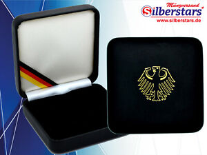 Etui für 100 Euro Goldmünze BRD mit und ohne Echtheitszertifikat Münzbox