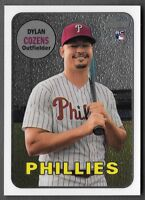 Dylan Cozens 2018 Topps Heritage High Number CHROME /999 Phillies #THC-634 RC
