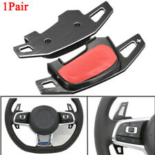 Pair Aluminum Gear Shift Steering Wheel Extension Paddle Shifter For VW Golf MK7