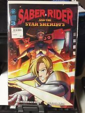 Saber Rider And The Sheriffs #3 Lion Forge Comics NEW